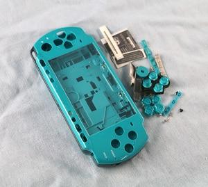 Image 4 - OCGAME için PSP3000 PSP 3000 kabuk eski sürümü oyun konsolu yedek tam konut kapak kılıf düğmeler kiti
