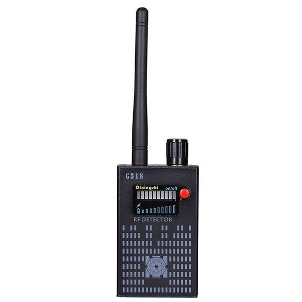 GPS High-speed 1MHz-8000MHz detect Mobile Anti-Spy wireless Amplification Detector Hidden Signal Detector