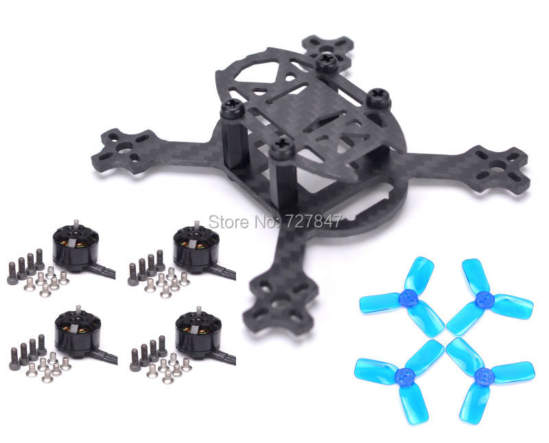 Q90 90 90mm Micro Quadcopter Drone Carbon Fiber 1104 4000KV motor 2030 Propeller for FPV Blade
