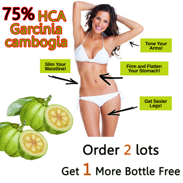NEW UPDATED FORMULA, 2 PACKS 60 DAYS SUPPLY TOP quality herbal extracts 75 HCA DIET  LOSE WEIGHT BY FAT BURNING