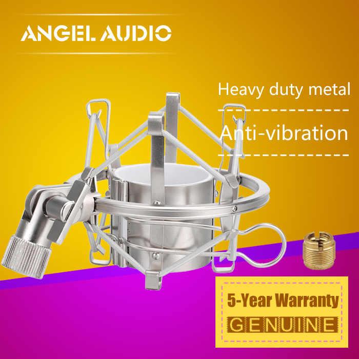 Haute qualité Champagne couleur araignée Microphone choc montage micro support pince antichoc fermoir support pour NEUMANN U67 TLM 102 TLM102