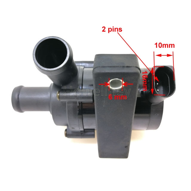 1K0965561J Water Pump Electric Additional Coolant Auxiliary Cooling 1K0 965 561 J For Volkswagen Golf Skoda Seat Audi A3 TT Q3 in Water Pumps from Automobiles Motorcycles