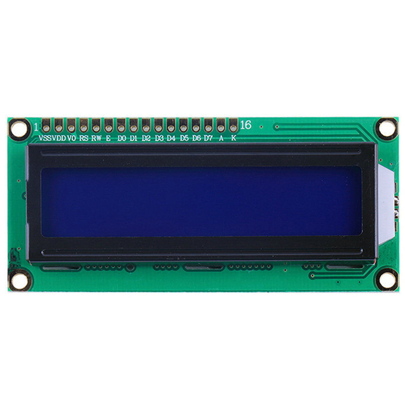 LCD Display For Raspberry PI LCD 1602 Display LCD1602 HD44780 LCD Module 16×2 DIY KIT 5V Blue Screen And White Code For Arduino