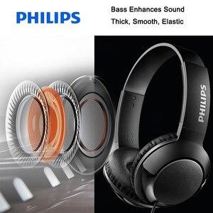Image 2 - フィリップスSHL3075プロ低音ヘッドフォンワイヤー制御ノイズリダクションヘッドバンド三星銀河S8/S9/S9Plus
