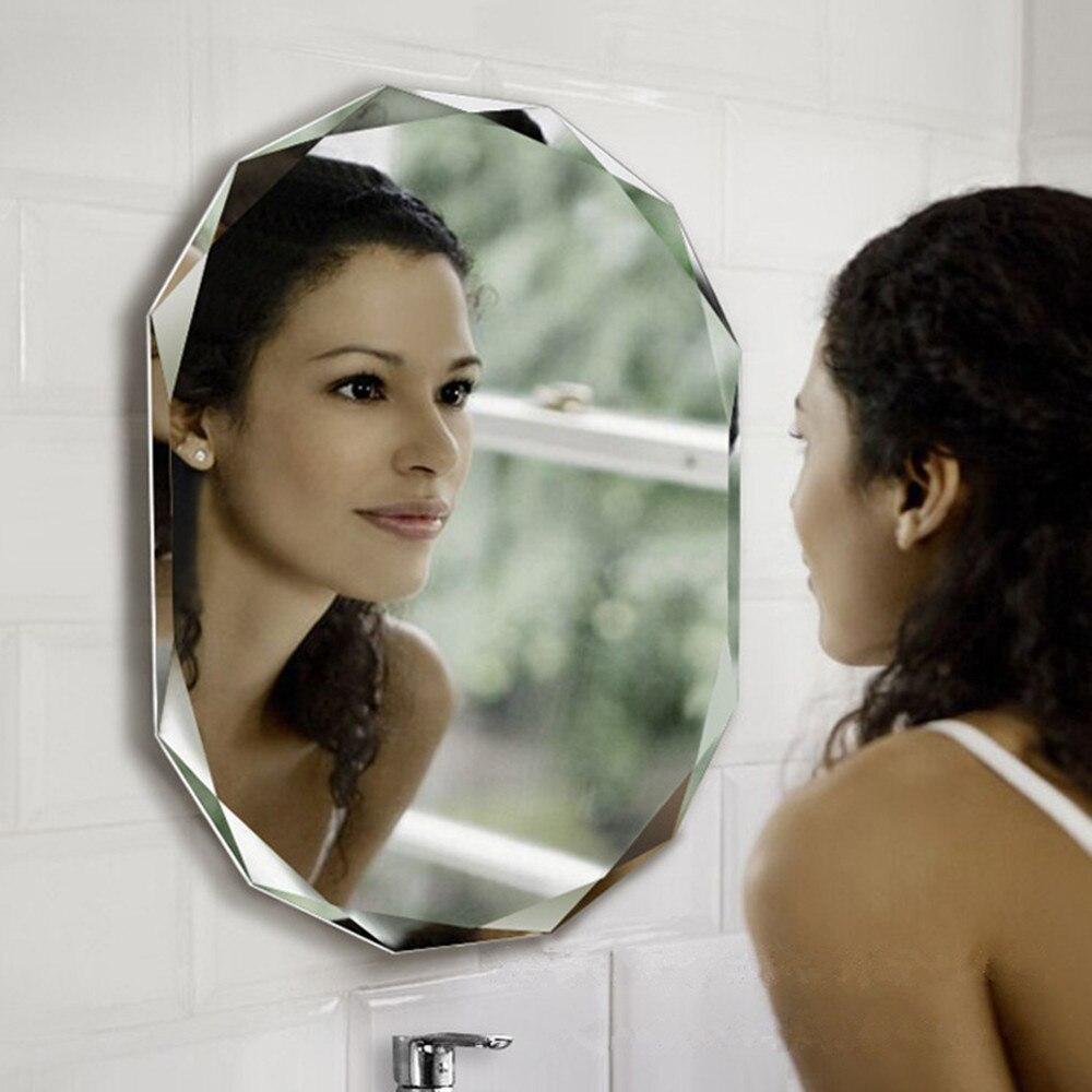 Зеркало для ванной автомобиля зеркало заднего вида окно Анти туман непромокаемая нано прозрачная защитная пленка 20 ''x 40'' (50 см x 100 см)