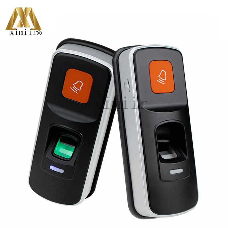 X660 Standalone Biometric Fingerprint Access Control System Single Door Fingerprint Access Controller With RFID Card Reader m80 fingerprint and rfid card access controller standalone biometric fingerprint door access control system with card reader