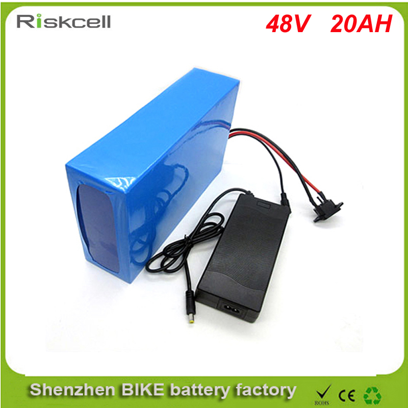 No taxes 48v lithium ion battery 20ah electric Bicycle battery for e-bike  48V 20AH Electric  Bike Lithium Battery +30A BMS free customs taxes 48v 40ah portable lithium battery with 2000w bms chargrer e bike electric bicycle scooter 48v lithium battery