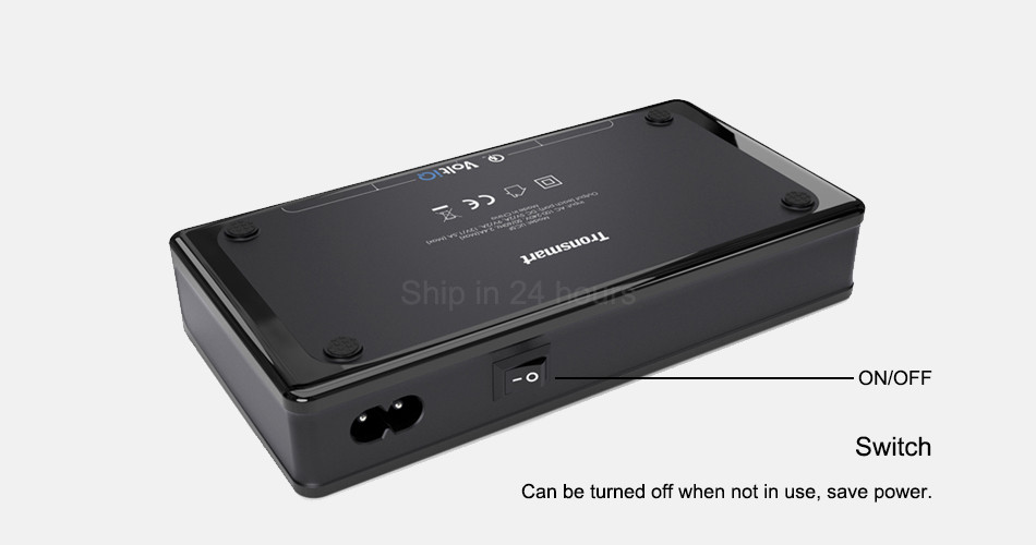 Qualcomm Certified Tronsmart Titan UC5F 5 Ports Quick Charge 2.0 USB Smart Desktop Charger QC2.0 90W Turbo Charge Fast Charging 2