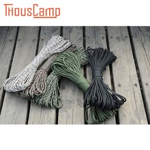 Outdoor Survival 100FT 31M  7 Wicks Lifesaving Rope for sports climbing mountain parachute lanyard