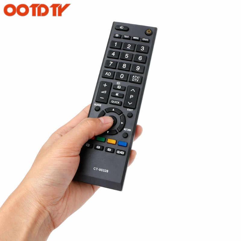 OOTDTY умный светодиодный LED ТВ дистанционное управление для TOSHIBA CT-90326 CT-90380 CT-90336 CT-90351 дропшиппинг