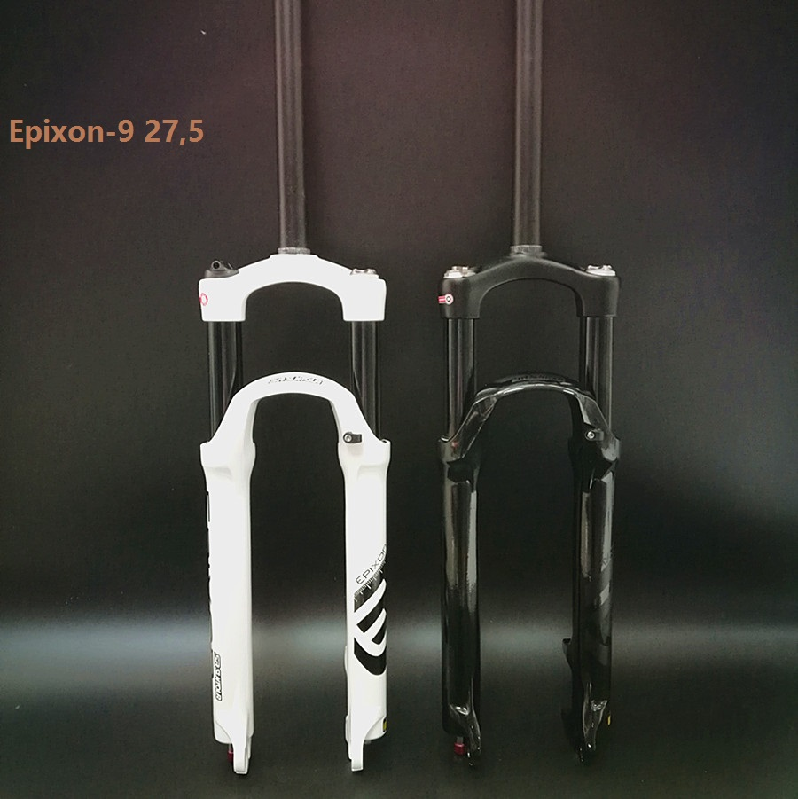 2017 new style SR SUNTOUR Bike Fork EPIXON 26 27.5 29 MTB of air damping front fork Cost-effective than Manitou Marvel Comp