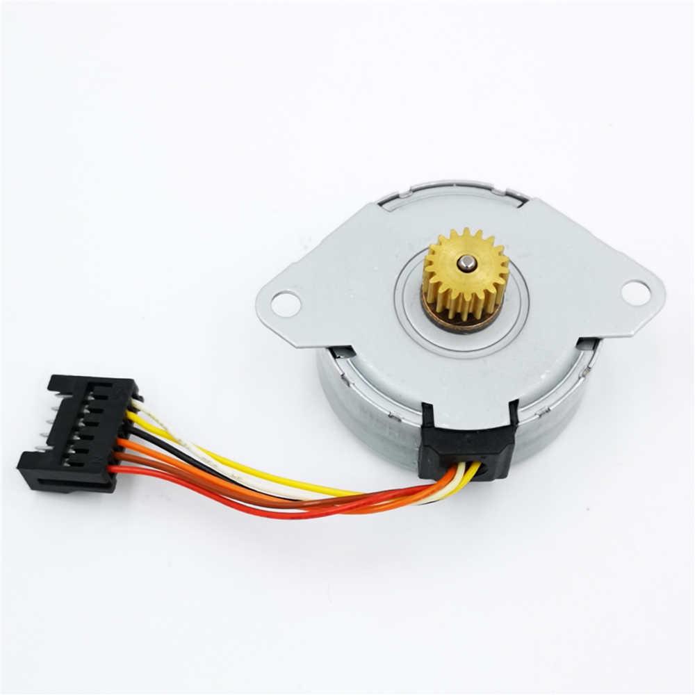 medium resolution of 5pcs lot dc 24v mitsumi m35sp 7t stepper motor 4 phase 6