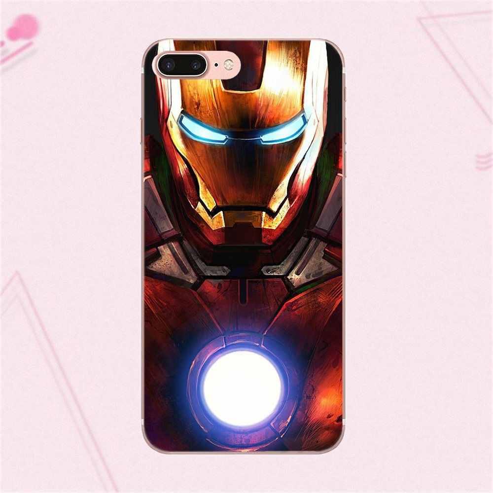 Soft Shell чехол для телефона чудесные Супергерои бренд для Galaxy J1 J2 J3 J330 J4 J5 J6 J7 J730 J8 2015 2016 2017 2018 mini Pro