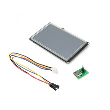 NEW Enhanced 7.0 Inch HMI Intelligent Smart USART UART Serial Touch TFT LCD Module for Arduino for Raspberry Pi(China)