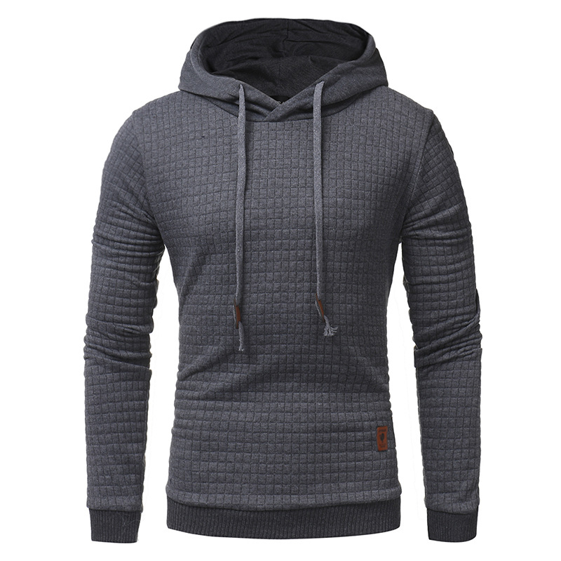 Drop Shipping Hoodies Men Long Sleeve Solid Color Male Hooded Sweatshirt Mens Hoodie Sweat Coat Casual Sportswear Free Shipping