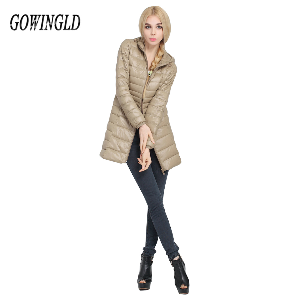 Warm Winter Middle Aged Plus Size Long Jacket Women's Hooded ...