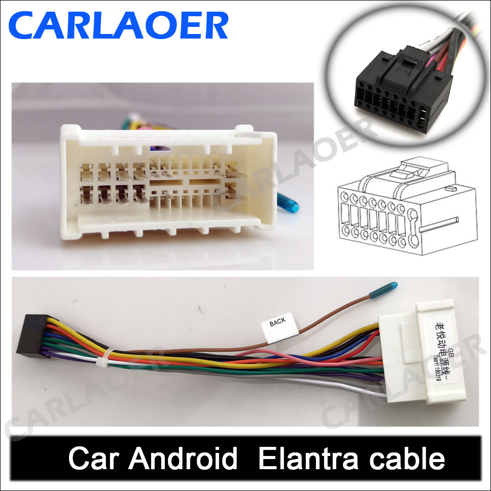 Car Android old Hyundai Elantra cable