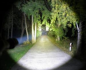Image 5 - Sofirn C8A טקטי LED פנס 18650 עוצמה Cree XPL2 1750lm גבוהה כוח לפיד אור מנורה עם 2 קבוצות אופני אור מחנה
