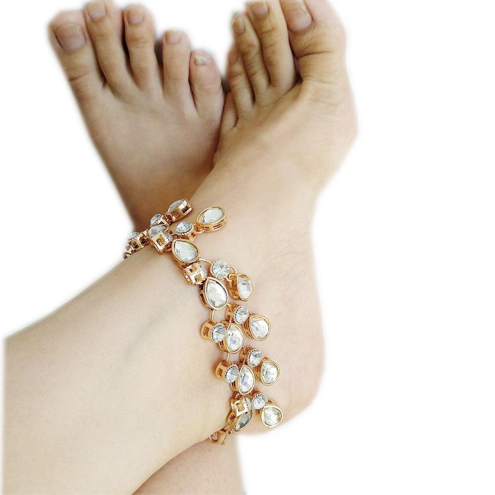 459961d4ec5d3 Beach wedding jewelry golden silver barefoot sandals foot chain foot jpg  1000x1000 Bling foot jewelry