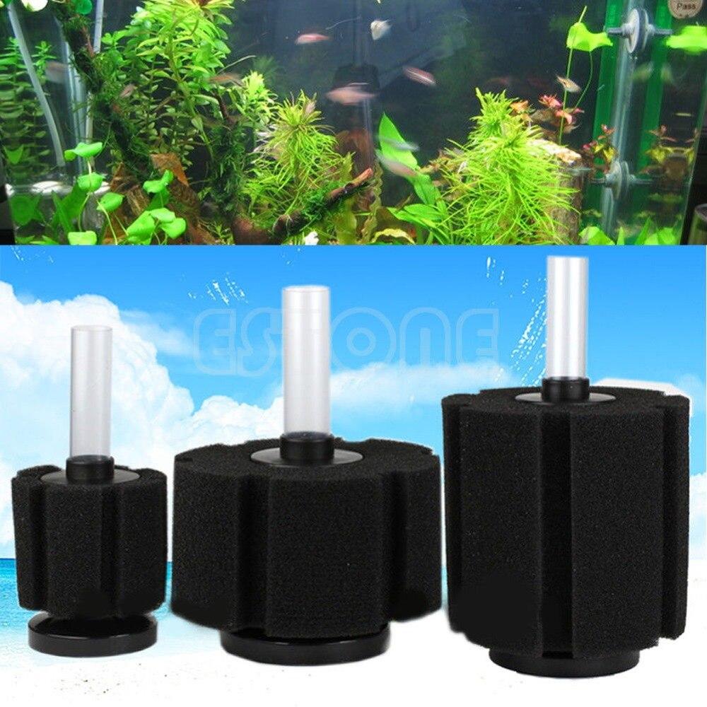 Fish tank filter sponge - Aquarium Fish Tank Bio Filter Biochemical Sponge Foam Oxygen Fry Air Pump S M L F1fb