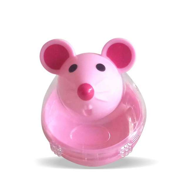 Pet Cat Toy Feeder ball Mouse Tumbler Educational Toys Pet Leakage Device Funny Cat kitten Interactive Leaking Food Balls