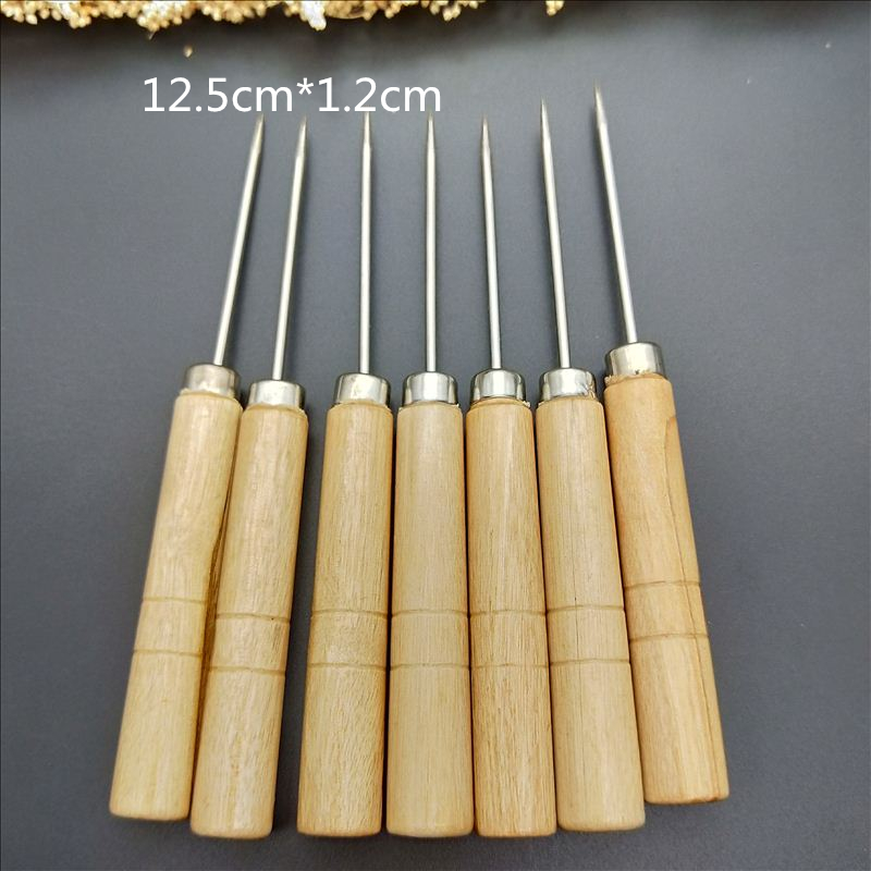 wooden handle needle Die Release Tool for Releasing Paper Cuts DIY Cutting Dies Carft Making