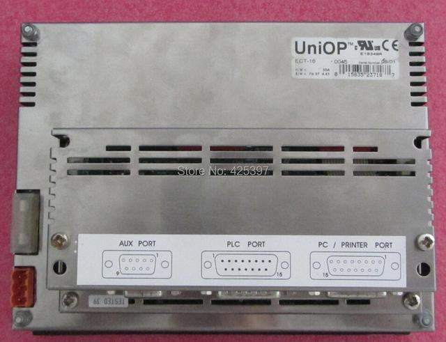 ECT-16 (UNIOP) A segunda mão e original HMI com boa qualidade 100% testado ok garantia 120 dias