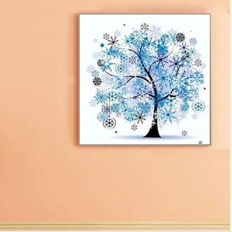 Φ_ΦUseful Diamond Embroidery DIY 5D Tree Rhinestone Four Seasons ...