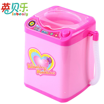 Mini Baby Housekeeping Toys Simulation Plastic Electric Washing Machine Cleaner Functional Toy Pretend Play Girls Game Lavadora baby toys