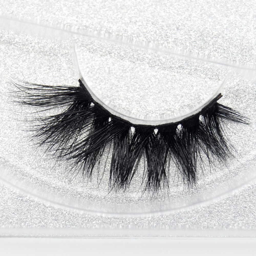 Visofree Thick Fake Eyelashes Crisscross False Eyelashes Hand Made 3D Mink Lashes Cilios Beauty Makeup Accessories D117