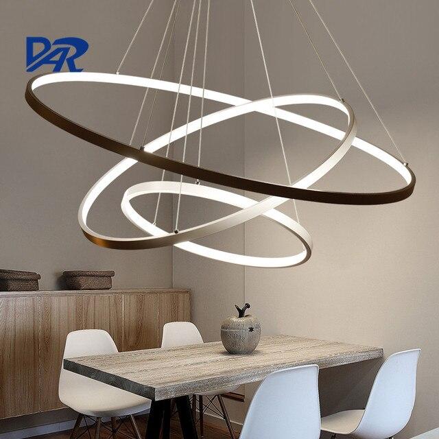 Acheter moderne led pendentif lumi re for Luminaire suspendu 3 lampes