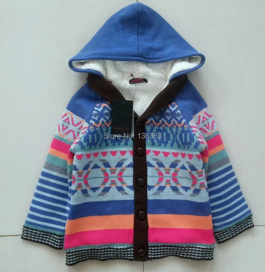 052cc1bb12 catimini brand ikks Catimini boy autumn Baby sweater cardigan printed long  sleeve knitwear knitted children s sweater kids-in Sweaters from Mother    Kids
