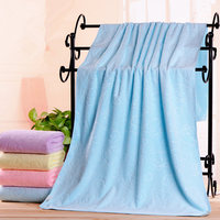Bath Towel Superfine Fiber Polished Embossed Newborn Baby Bath Towel Child Quilt Super Soft Water Can