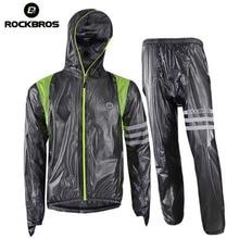 Raincoat Bicycle Cycling-Jacket ROCKBROS Waterproof Jersey Mtb Bike Breathable Men Men's