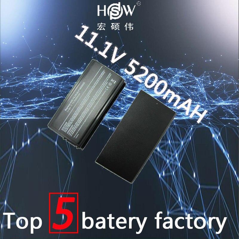 HSW 6 cellules batterie Pour Asus a32 f5 a32-f5 a32 f5c F5 F5C F5GL F5M F5N F5R F5RI F5SL F5Sr f5V F5Z X50 X50C X50M X50N X50R bateria