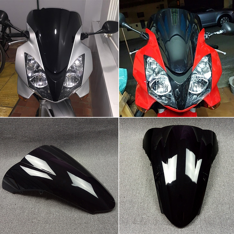 VFR800 2002-2009 2003 2004 2005 2006 2007 2008 Motorcycle Windshield / Windscreen For Honda VFR 800 02 03 04 05 06 07 08 09 swing arm pivot frame trim covers for honda vtx1300 2003 2004 2005 2006 2007 2008 2009 chrome