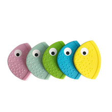 1pc Baby Teether Bib Creative Cute Fish Mouth Teether Baby T