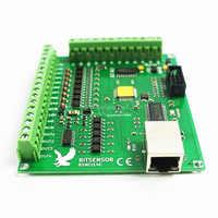 200 KHz Mach3 Controller Karte Breakout Board für CNC Gravur Maschine 4 achsen Ethernet port