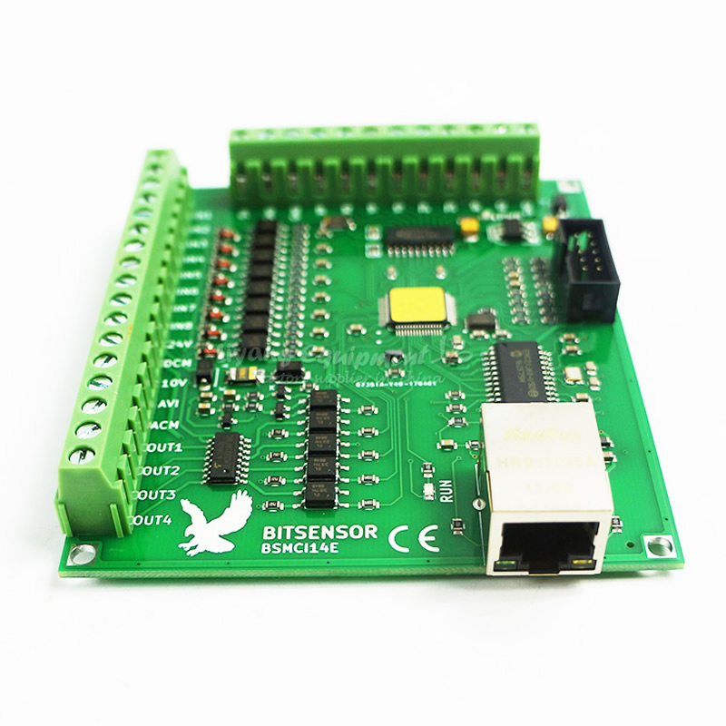 200KHz Mach3 Controller Card Breakout Board for CNC Engraving Machine 4 axis Ethernet port