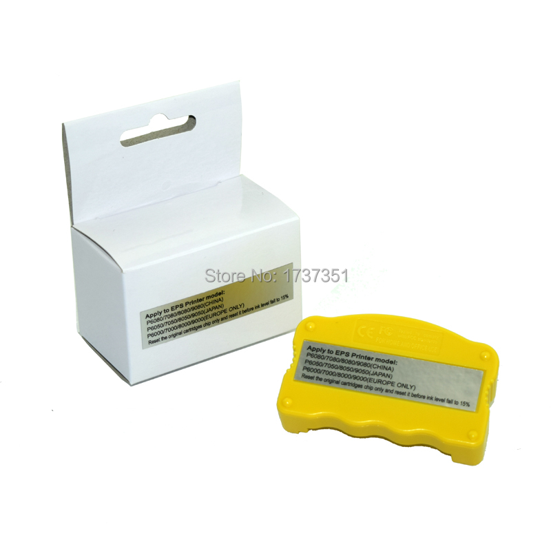 t8041 - t8049 Cartridge chip resetter for epson p6000 p7000 p8000 p9000 p6080 p7080 p8080 p9080 p6050 p7050 p8050 p9050 printer chip resetter for epson p6000 p7000 p8000 p9000 p6080 p7080 p8080 p9080 cartridge chip resetter
