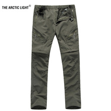 THE ARCTIC LIGHT Men quick-drying pants Waterproof breathable perspiration UV trousers cyc