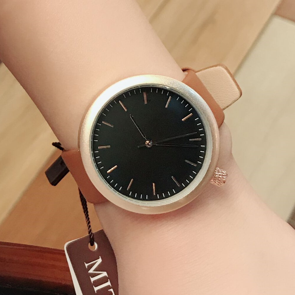 BGG brand minimalism Style Ladies Dress Watch Female Quartz Wristwatch leather Strap Women Fashion Casual Clock hours relogio kimio new fashion leather strap women quartz casual bracelet watch clock female ladies girl dress wristwatch relogio and box