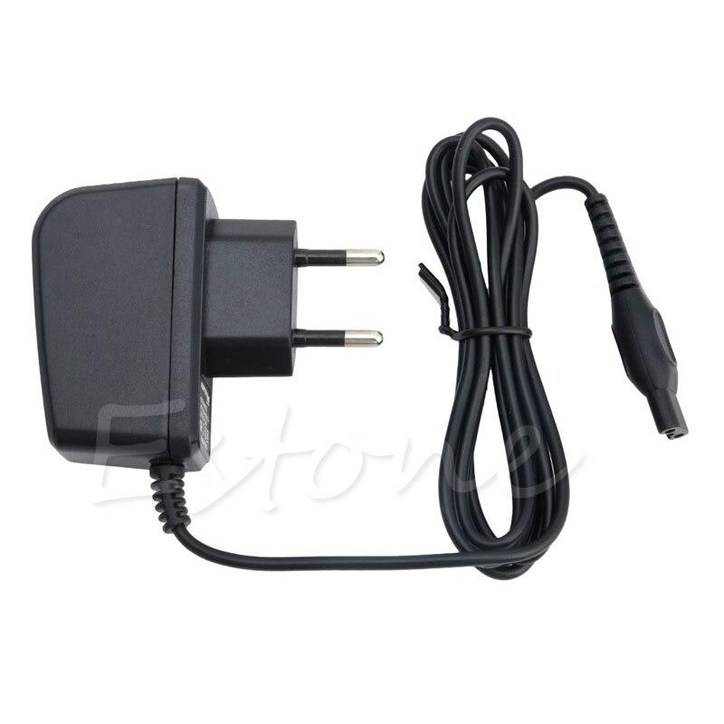 ЕС Plug Универсальный Мощность Бритвы Зарядное устройство адаптер Шнур для <font><b>Philips</b></font> Norelco бритвы HQ