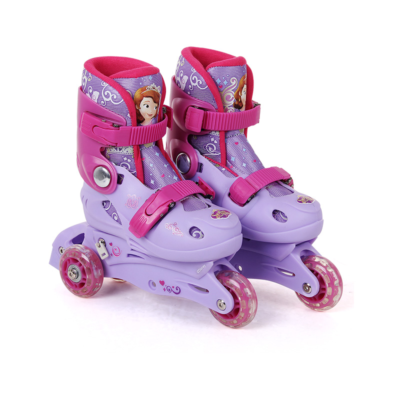 Sofia Outdoor roller skates Children Kids Inline Skate Roller Skating Shoes For young girls ...