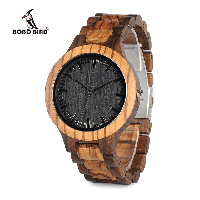 WoodTouch REBEL - Montre en bois - Homme