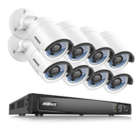 ANNKE HD 1080P 8CH H 264 PoE NVR IP Network Outdoor Security Camera System 1TB