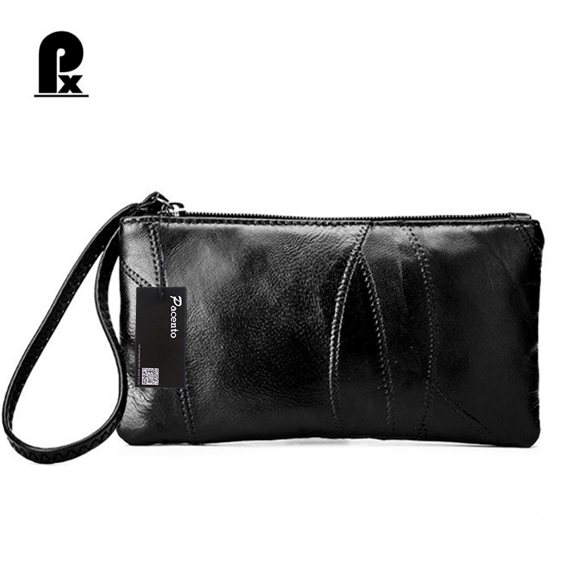 PACENTO 2017 Women Wallets Leather Genuine with Coin Purse Female Brand long Money Bag for Cellphone Solid Lady Wallet Cuzdan дрель аккумуляторная aeg bs12c2 li 152b x5 448464