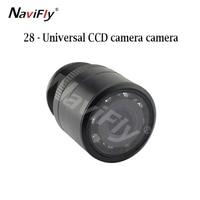 New 28 drilling waterproof universal CCD camera rear view camera