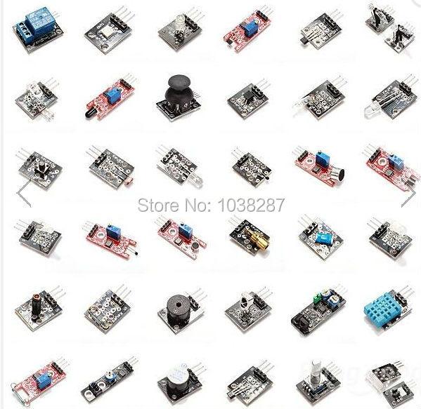 High Quality 37 In 1 Sensor Module Board Set Kit For Arduino Free Shipping