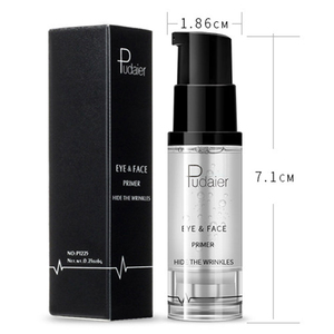 Image 5 - איפור בסיס קרם לחות טבעי עירום פנים טיפול עין בסיס מקצועי איפור פריימר קרם נוזל מלא כיסוי ג ל